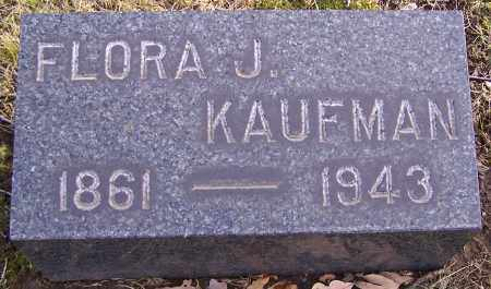 KAUFMAN, FLORA J. - Stark County, Ohio | FLORA J. KAUFMAN - Ohio Gravestone Photos