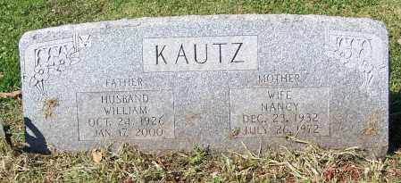 KAUTZ, WILLIAM - Stark County, Ohio | WILLIAM KAUTZ - Ohio Gravestone Photos