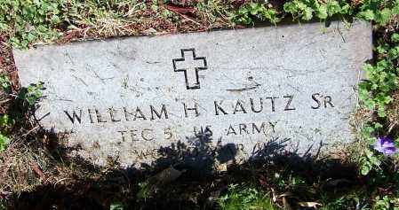 KAUTZ, WILLIAM H.  (MIL) - Stark County, Ohio | WILLIAM H.  (MIL) KAUTZ - Ohio Gravestone Photos