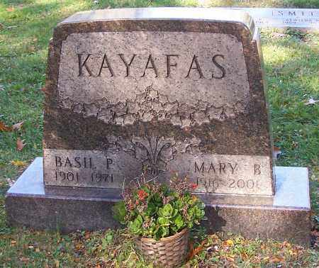 KAYAFAS, MARY B. - Stark County, Ohio | MARY B. KAYAFAS - Ohio Gravestone Photos