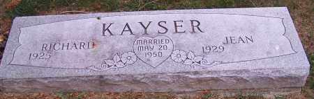 KAYSER, RICHARD - Stark County, Ohio | RICHARD KAYSER - Ohio Gravestone Photos