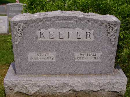 KEEFER, ESTHER - Stark County, Ohio | ESTHER KEEFER - Ohio Gravestone Photos