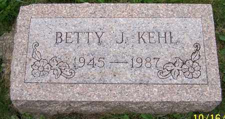 KEHL, BETTY J. - Stark County, Ohio | BETTY J. KEHL - Ohio Gravestone Photos