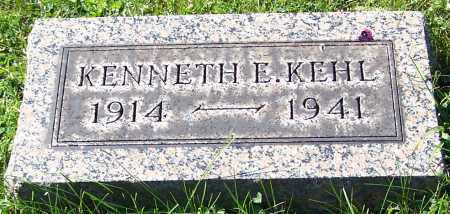 KEHL, KENNETH E. - Stark County, Ohio | KENNETH E. KEHL - Ohio Gravestone Photos