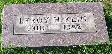 KEHL, LEROY H. - Stark County, Ohio | LEROY H. KEHL - Ohio Gravestone Photos