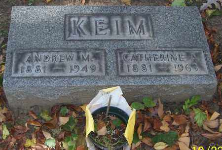 KEIM, CATHERINE A. - Stark County, Ohio | CATHERINE A. KEIM - Ohio Gravestone Photos