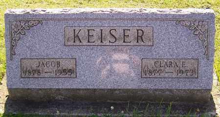 KEISER, JACOB - Stark County, Ohio | JACOB KEISER - Ohio Gravestone Photos
