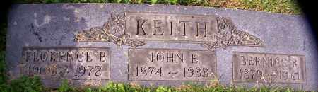 KEITH, JOHN E. - Stark County, Ohio | JOHN E. KEITH - Ohio Gravestone Photos