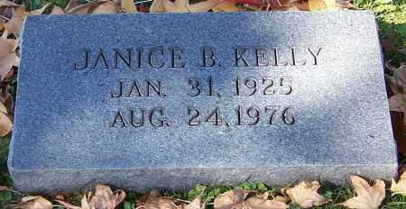 KELLY, JANICE B. - Stark County, Ohio | JANICE B. KELLY - Ohio Gravestone Photos