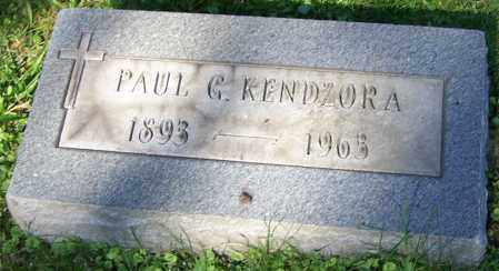 KENDZORA, PAUL G. - Stark County, Ohio | PAUL G. KENDZORA - Ohio Gravestone Photos