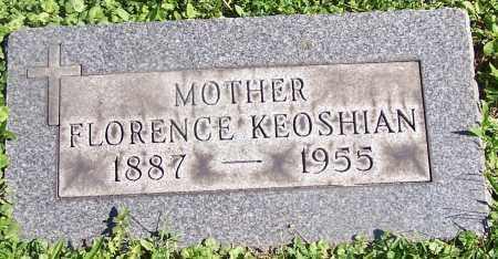 KEOSHIAN, FLORENCE - Stark County, Ohio | FLORENCE KEOSHIAN - Ohio Gravestone Photos