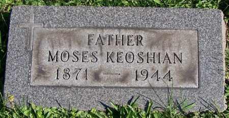 KEOSHIAN, MOSES - Stark County, Ohio | MOSES KEOSHIAN - Ohio Gravestone Photos