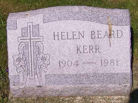 KERR, HELEN BEARD - Stark County, Ohio | HELEN BEARD KERR - Ohio Gravestone Photos