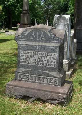KERSTETTER, ISABELLA - Stark County, Ohio | ISABELLA KERSTETTER - Ohio Gravestone Photos