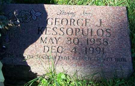 KESSOPULOS, GEORGE J. - Stark County, Ohio | GEORGE J. KESSOPULOS - Ohio Gravestone Photos