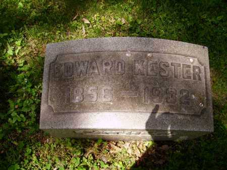 KESTER, EDWARD J. - Stark County, Ohio | EDWARD J. KESTER - Ohio Gravestone Photos