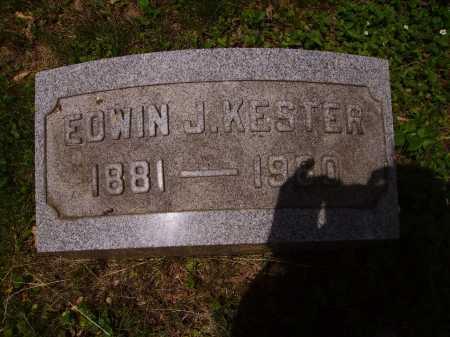KESTER, EDWIN J. - Stark County, Ohio | EDWIN J. KESTER - Ohio Gravestone Photos