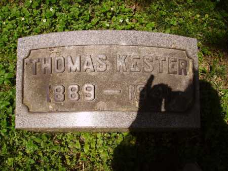 KESTER, THOMAS - Stark County, Ohio | THOMAS KESTER - Ohio Gravestone Photos
