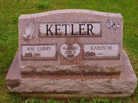 KETLER, WM. LARRY - Stark County, Ohio | WM. LARRY KETLER - Ohio Gravestone Photos