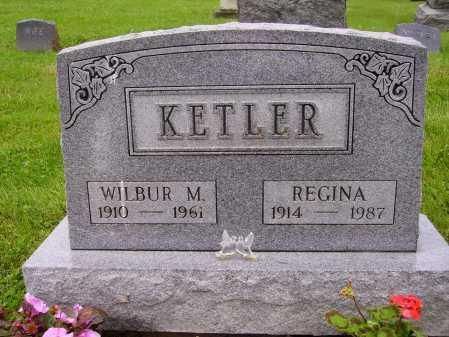 KETLER, REGINA - Stark County, Ohio | REGINA KETLER - Ohio Gravestone Photos