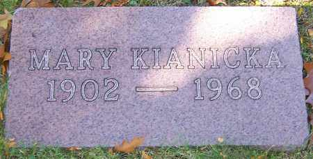 KIANICKA, MARY - Stark County, Ohio | MARY KIANICKA - Ohio Gravestone Photos