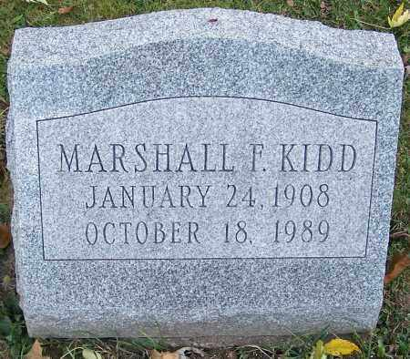 KIDD, MARSHALL F. - Stark County, Ohio | MARSHALL F. KIDD - Ohio Gravestone Photos