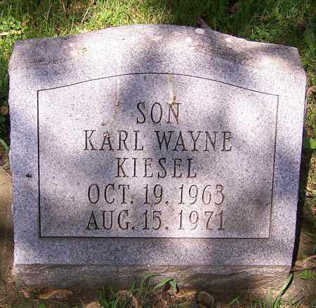 KIESEL, KARL WAYNE - Stark County, Ohio | KARL WAYNE KIESEL - Ohio Gravestone Photos