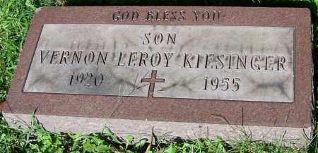 KIESINGER, VERNON LEROY - Stark County, Ohio | VERNON LEROY KIESINGER - Ohio Gravestone Photos