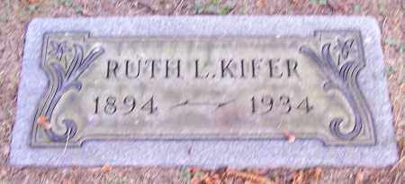 KIFER, RUTH L. - Stark County, Ohio | RUTH L. KIFER - Ohio Gravestone Photos
