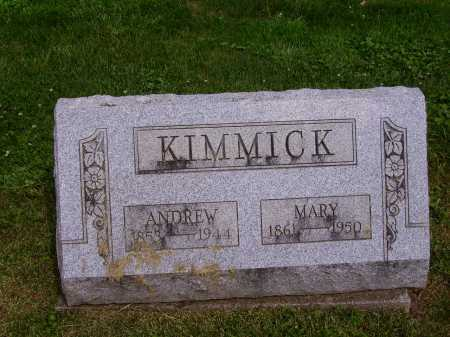SIMMONS KIMMICK, MARY - Stark County, Ohio | MARY SIMMONS KIMMICK - Ohio Gravestone Photos