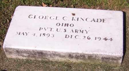 KINCADE, GEORGE C. - Stark County, Ohio | GEORGE C. KINCADE - Ohio Gravestone Photos