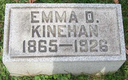 KINEHAN, EMMA D. - Stark County, Ohio | EMMA D. KINEHAN - Ohio Gravestone Photos