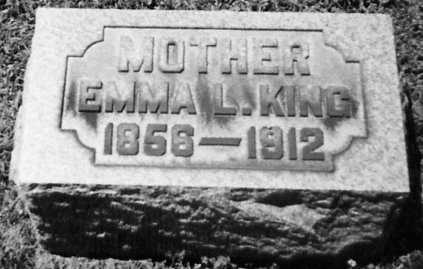 KING, EMMA L. - Stark County, Ohio | EMMA L. KING - Ohio Gravestone Photos