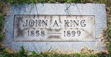 KING, JOHN A. - Stark County, Ohio | JOHN A. KING - Ohio Gravestone Photos
