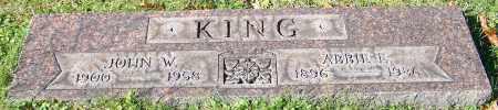 KING, JOHN W. - Stark County, Ohio | JOHN W. KING - Ohio Gravestone Photos