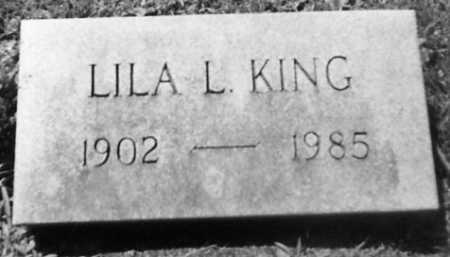 KING, LILA L. - Stark County, Ohio | LILA L. KING - Ohio Gravestone Photos