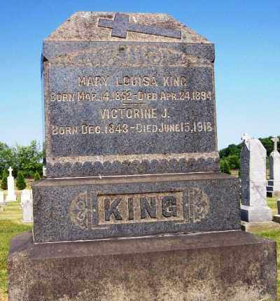 KING, VICTORINE J. - Stark County, Ohio | VICTORINE J. KING - Ohio Gravestone Photos