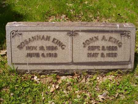 KING, ROSANNAH - Stark County, Ohio | ROSANNAH KING - Ohio Gravestone Photos