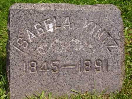 KINTZ, ISABELA - Stark County, Ohio | ISABELA KINTZ - Ohio Gravestone Photos