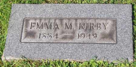KIRBY, EMMA M. - Stark County, Ohio | EMMA M. KIRBY - Ohio Gravestone Photos