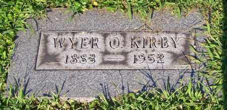 KIRBY, WYER O. - Stark County, Ohio | WYER O. KIRBY - Ohio Gravestone Photos
