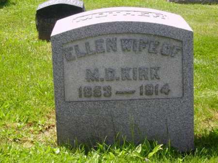KIRK, ELLEN - Stark County, Ohio | ELLEN KIRK - Ohio Gravestone Photos