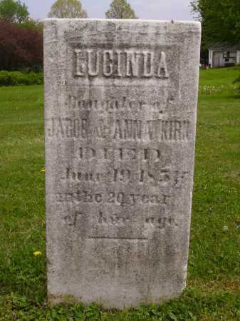 KIRK, LUCINDA - Stark County, Ohio | LUCINDA KIRK - Ohio Gravestone Photos