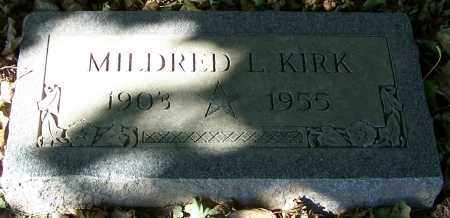 KIRK, MILDRED L. - Stark County, Ohio | MILDRED L. KIRK - Ohio Gravestone Photos