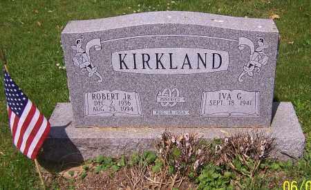 KIRKLAND, IVA G. - Stark County, Ohio | IVA G. KIRKLAND - Ohio Gravestone Photos