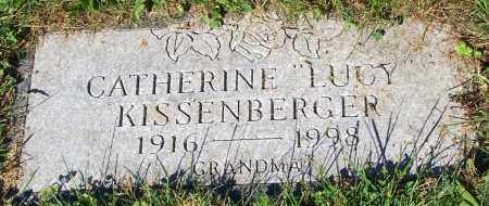 "KISSENBERGER, CATHERINE ""LUCY"" - Stark County, Ohio 