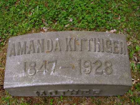 KITTINGER, AMANDA - Stark County, Ohio | AMANDA KITTINGER - Ohio Gravestone Photos