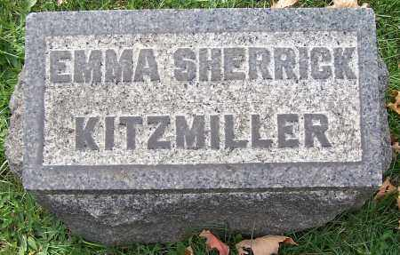KITZMILLER, EMMA SHERRICK - Stark County, Ohio | EMMA SHERRICK KITZMILLER - Ohio Gravestone Photos