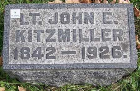 KITZMILLER, LT. JOHN E. - Stark County, Ohio | LT. JOHN E. KITZMILLER - Ohio Gravestone Photos
