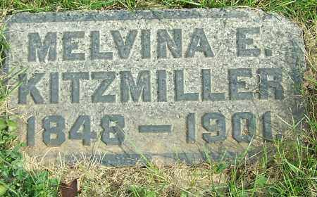 KITZMILLER, MELVINA E. - Stark County, Ohio | MELVINA E. KITZMILLER - Ohio Gravestone Photos